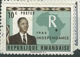 Republique Rwandaise/INDEPENDANCE 1962, různý nominál