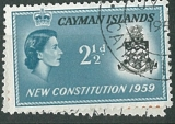 Cayman Islands, New Constitution 1959