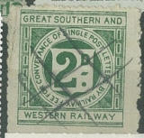 Great Southern and Westwrn Railway, privát. Irská železniční