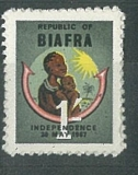 Republic of Biafra/Independence 30 MAY 1967,