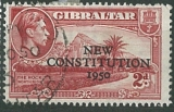 Gibraltar, NEW CONSTITUTION 1950