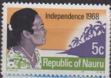 Republic of Nauru, INDEPENDENCE 1968,  různý nominál/obraz