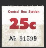CENTRAL BUS STATION 1981