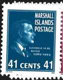 Marshall Islands Postage, prezidenti USA růz nom