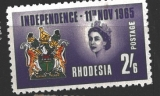 Rhodesia INDEPENDENCE 11 NOV 1965