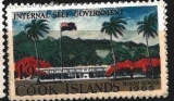 Cook Islands Internal Self Government 1965, stejná známka