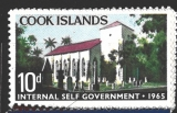 Cook Islands/Internal Self Government 1965, různý nom. a obraz