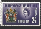 Rhodesia INDEPENDENCE 11th NOV 1965